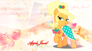 AppleJewel Wallpaper by StarLullaby