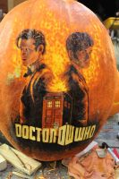 Doctor Who Pumpkin by Catriana-Dreamwing