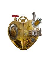 Steampunk heart by Gonchir