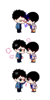 Souharu Fight by booombom