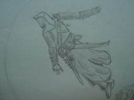 Altair Leap of Faith sketch by Shivwacka