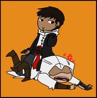 Malik and Altair by Koipatches