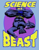 Science is a BEAST by artistjerrybennett
