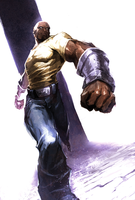 Luke Cage by naratani