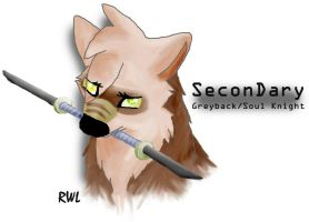 SeconDary Greyback/Soul Knight by Rainwolflover