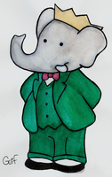 Babar - King of the Elephants by Guilll