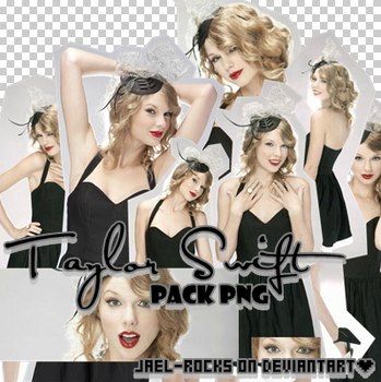 Taylor Swift pack png by Jael-Rocks