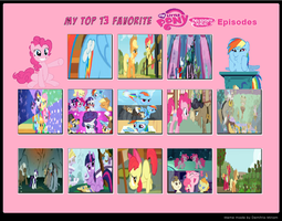 My Top 13 Favorite MLP: FiM Episodes by cartoonfanboyone