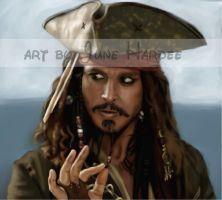 Jack Sparrow by JunebugHardee