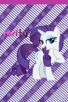 Rarity iPhone 4 Wallpaper by AceofPonies