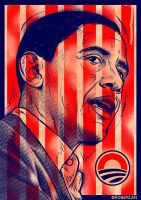Obama Flag by roberlan