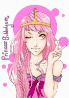 Princess bubblegum by ZakariasEatWorld