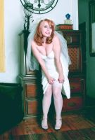Bride Stockings by ESLB-Photography