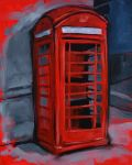 Red Phone Booth by Avvike
