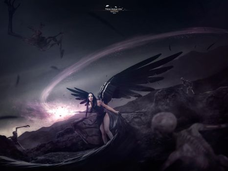 Wings Of Darkness by Hoangvanvan