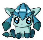 Chibi Glaceon by cocoasaurus