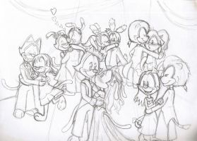 Warners' prom night by ChixWarners