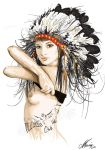 Native Indian by onksy