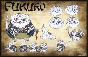 Fukuro Character Sheet by AngelLux13