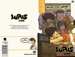 Final Project - 'LUPUS KOMIK' Comic Book Cover by Adriandhy