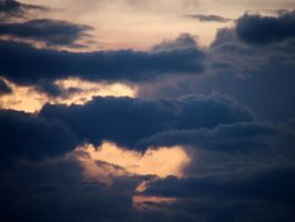 sunset clouds by Jolik