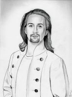 Alexander Hamilton (Graphite Drawing) by julesrizz