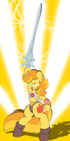 Braeburn is He-Man by V-D-K