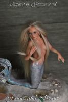 Tamara the mermaid Queen ( Gemma Ward inspired )6 by fairiesndreams