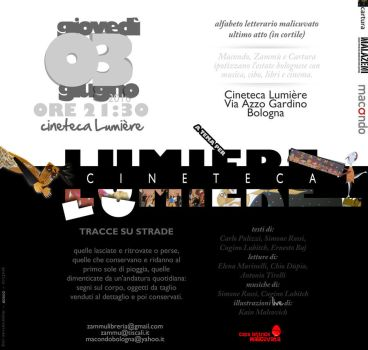 Flyer Cineteca Lumier by DogonReview