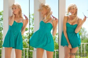 Anna - Turquoise 2 by TheBigTog