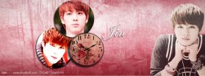 Jin Facebook Cover by ParkYuri666