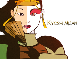 Disney Princess: Kyoshi Mulan by LaVitaArts