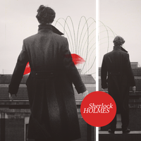 Sherlock Holmes and red color by Lenny-art