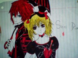 Shiki And Rima by VKlover11