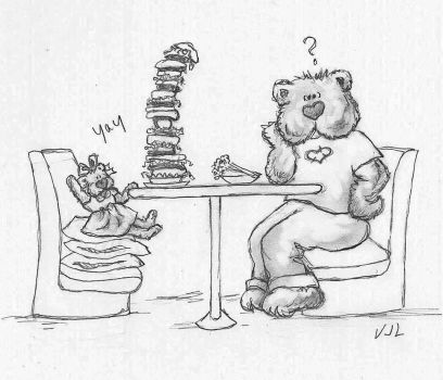 The Diet (Beary Tales #11) by ValerieJoyLauria