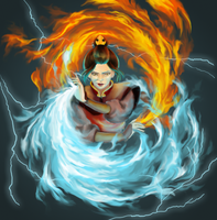 Princess Azula by asperata