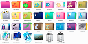 Pony Places Icons for Windows, Mac, Linux (v0.9) by FuRRoRo