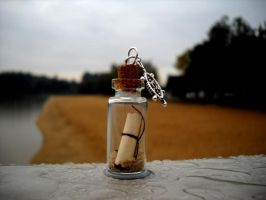 Letter in the bottle by PefriX