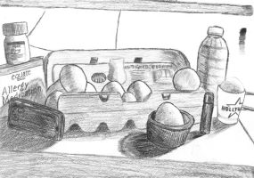 Egg still life by Ryker-da