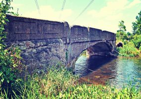 Old Stone Bridge: Water Passing by TemariAtaje