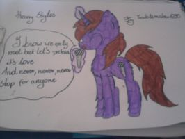 harry styles pony by troublemaker1230
