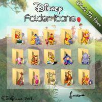 Disney Folder Icons - Winnie the Pooh by EditQeens