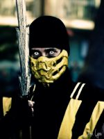 Mortal Kombat: Scorpion by SNTP