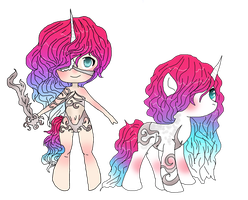 unicorn fighter adopt by adoptableluvr