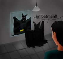 i am batman! by bodymindandspirit