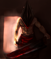 Pyramid Head by Nadao