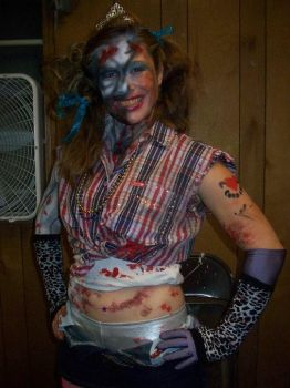 White Trash Zombie Princess by t3hnicolee