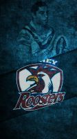 NRL Sydney Roosters phone background by TokenofHon