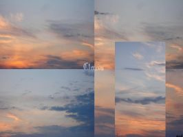 Clouds At Sunset by Comacold-stock