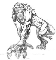 Monster Monday Sketch No.7 by Comicbookist